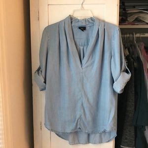 Tops - Chic Chambray Top